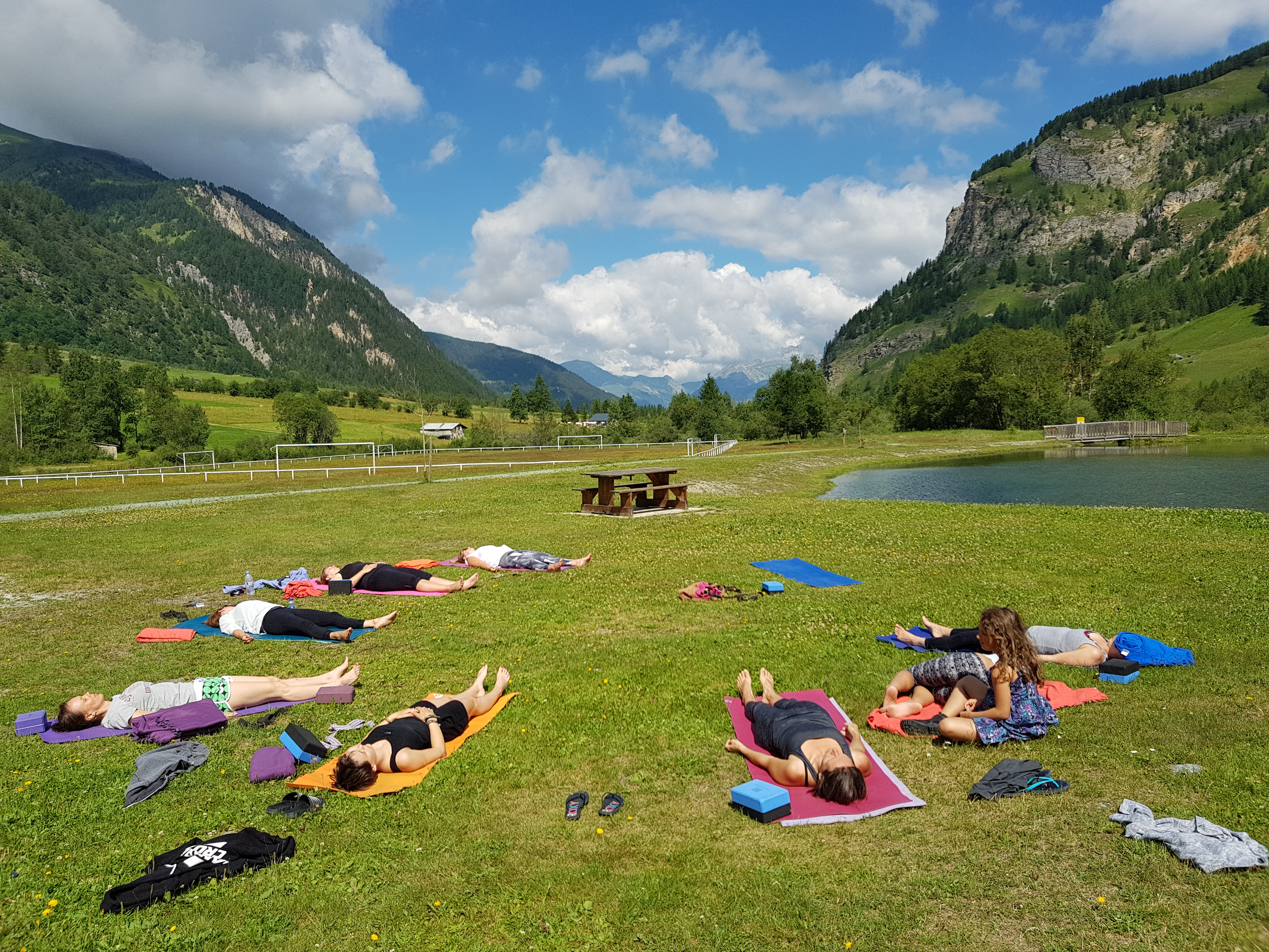 Yoga classes in Bourg-Saint-Maurice, Peisey-Vallandry or Glasgow